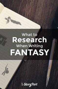 Ihr wollt ein Fantasy-Buch schreiben? Diese Aspekte solltet Ihr dabei recherchieren