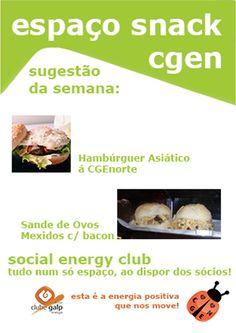 #cgenorte #socialenergyclub #snack #sugestãodasemana