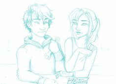 Cinder and Kai for tlc ship weeks day 4: Repairs by Julie Crowell