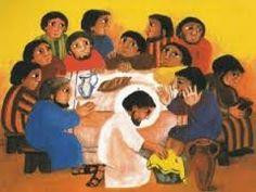 Resultado de imagen de la ultima cena de jesus imagenes