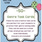 These are 50 great task cards for help with naming genres. Some cards use the genre definition and other cards give book titles. There are a wide v...
