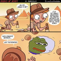 the rarest of pepes by Adam Ellis