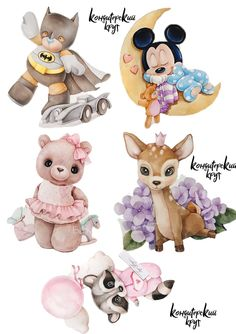Our goal is to keep old friends, ex-classmates, neighbors and colleagues in touch. Animals Watercolor, Kids Watercolor, Canvas Painting Designs, Unicornios Wallpaper, Homemade Stickers, Disney Valentines, Cute Themes, Disney Cards, Baby Illustration