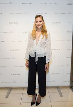 Olivia Palermo Personal Appearance at Nordstrom Michigan Avenue on September 8, 2016 in Chicago, Illinois.