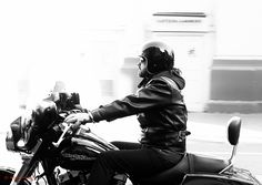 Harley Rider in London - Sep 2015