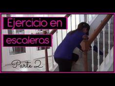 Ejercicio en casa usando escaleras parte 2 - YouTube