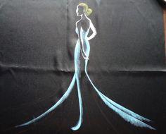 Kinga Szyje!: Malowanie na tkaninach farbami akrylowymi