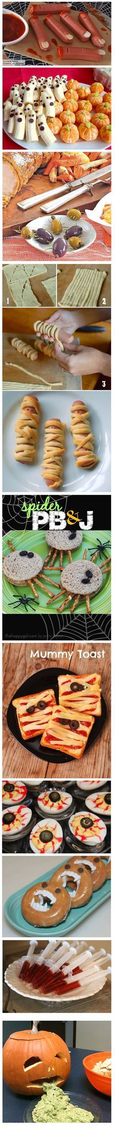 Comida para Halloween Halloween Snacks, Fall Halloween, Halloween Comida, Halloween Decorations, Halloween Costumes, Halloween Birthday, Halloween Themes, Halloween Infantil, Happy Halloween