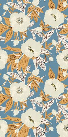 Seamless floral pattern with delicate flora. #fabric #wallpaper #patterndesign #surfacepattern #botanicalpattern #seamlesspattern #floralpattern #plantpattern #floralpattern #surfacedesign