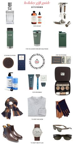 2014 Holiday Guide: Gifts for Men