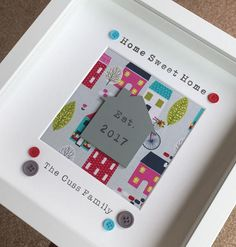 Boys train name frame print personalised baby gift nursery art new home gift personalised new home box frame gift negle Gallery