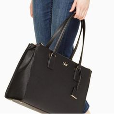 a8b07f2167d5 Kate Spade New York® Cameron Street Small Jensen. Made of crosshatched  leather with matching