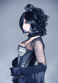 Androgynous Women, Band Pictures, Grow Out, Visual Kei, Gothic Beauty, Facial Hair, Elegant Dresses, Feminine, Wonder Woman