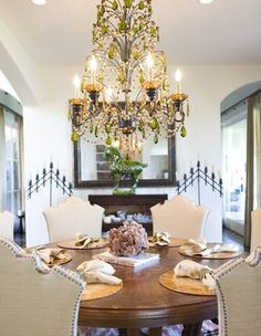 Dining room - traditional - dining room - orange county - Bliss Design Firm