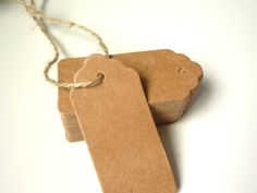 kraft paper tags for name cards