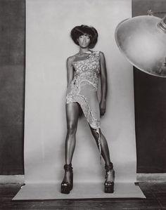 "naomihitme: ""Naomi photographed by Paolo Roversi, Vogue Italia January 2003 """