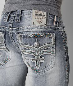 2ec15ecb0ab Rock Revival Scion Slim Straight Stretch Jean - Men s Jeans in Scion SJ200