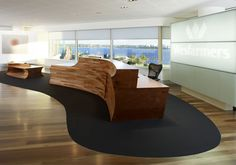 Wesfarmers Curved Reception Desk Designs Ideas