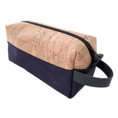 Cork and Canvas Dopp Kit Mens Travel Case Large by SpicerBags