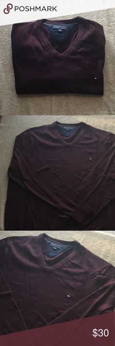 14fa3003 Shop Men's Tommy Hilfiger size XXL Sweaters at a discounted price at  Poshmark.