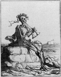 Honoré Daumier's 'La Paix Idyll' 1871