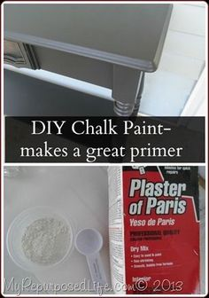 painted furniture using a diy Chalk Paint as a primer gives a flawless finish in a Homeright Finish Max.