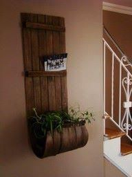 toboggan recycled into a planter would look awesome up at the cabin!