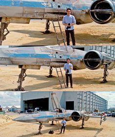 Director J.J. Abrams revealed the new design of the X-Wing starfighter in a video for UNICEF.<br />