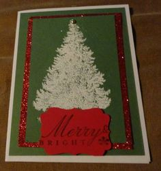 August Christmas Card Class by DebbieB - Cards and Paper Crafts at Splitcoaststampers