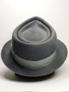 Mens Hats - The Seabreeze Roy Roger double crown crease LL:) Gentleman Hat, Blue Friday, Stylish Hats, Love Hat, Dress Hats, Sharp Dressed Man, Clothes Horse, Headgear, Clothing Items