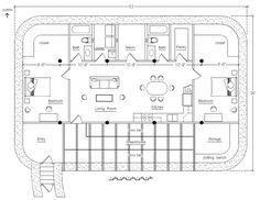 Solar Pit House « Earthbag House Plans