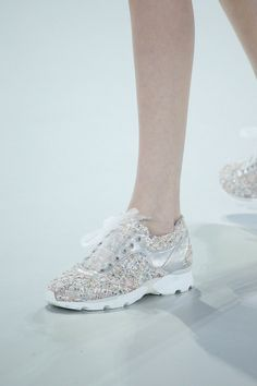Chanel sneakers #sportychic