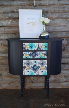 Martha Washington :: Themed Furniture Makeover Day - brepurposed