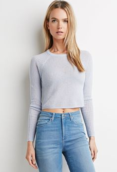 Ribbed Crop Top   Forever 21 - 2000157983