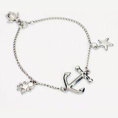 Create a bracelet with nautical flair! Dainty Delicate Nautical Bracelet