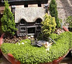 Designs for Mini Fairy Gardens The appealing photograph