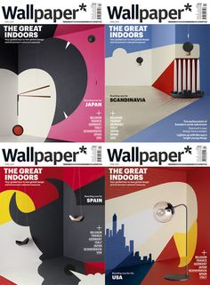 Awesome interior paint/furnishings to create a cover illustration