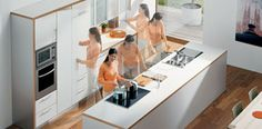 Tipps for kitchen planning. Gain more storage space, better ergonomics and optimal access. Improve your workflows