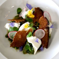 Kreative vegetarische Küche im Restaurant Cookies Cream   creme berlin