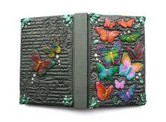 Decorated Butterfly Dream Journal  by VelvetoriumOnline on Etsy