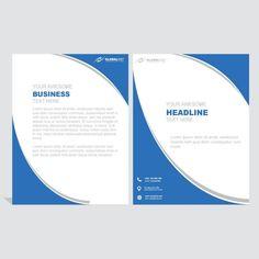 Wavy Brochure Template Bi Fold Brochure, Brochure Cover, Brochure Design, Brochure Template, Corporate Business, Corporate Brochure, Business Brochure, Company Names, Company Logo
