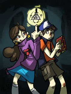 gravity falls by alalampone.deviantart.com on @DeviantArt