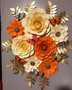 "387 Likes, 14 Comments - Flores Papel Belkis Torres (@flowerswithpaper) on Instagram: ""Clienta Feliz #nuevaplantilla #flowerspaper #flowers #flores #flower #flowerswithpaper…"""