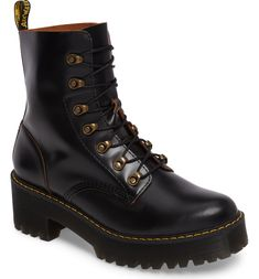 5f554af273276 Free shipping and returns on Dr. Martens Leona Heeled Boot (Women) at  Nordstrom