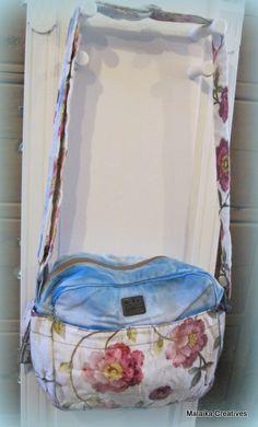 Old Cotton Cargo Bazaar schoudertas Omuz blauw | ♥ Old Cotton Cargo Handgemaakte tassen | Malaika Creatives
