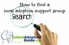 "How to find a local adoption support group. Local adoption support groups can be a lifeline for those who have adopted and those still on the journey. It is so helpful to talk to someone who ""gets"" what we are experiencing through adoption."