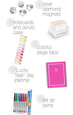Colorful Office Supplies   October 2012