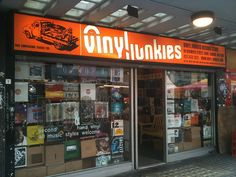 Vinyl Junkies, Berwick Street London (UK)