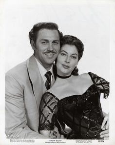 Ava Gardner & Howard Keel. Showboat