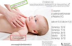 Nuovo corso di massaggio Infantile a Vercelli